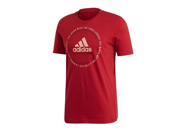 Мужская футболка adidas MH Emblem Tee M ED7274