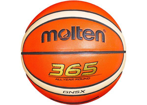 Баскетбольный мяч Gn5X синтетическая кожа Molten
