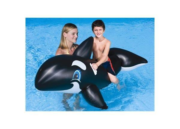 Ujumisalus täispuhutav lastele vaal Bestway 203cm JR