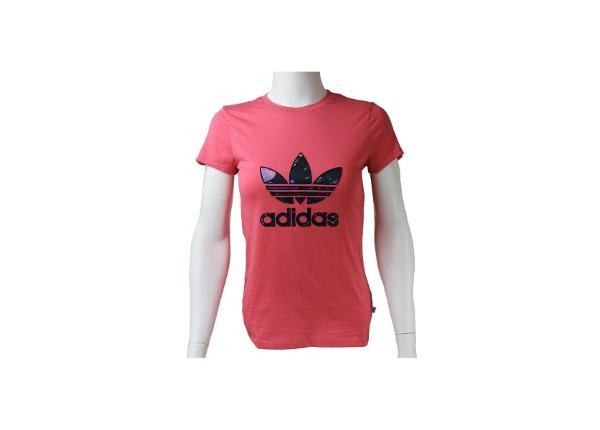 Lasten t-paita Adidas J BB Trefoil T-Shirt Junior AJ0035