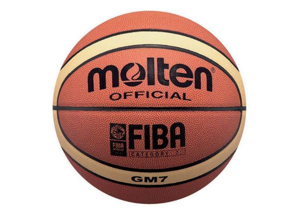 Баскетбольный мяч Gm7 синтетическая кожа Molten