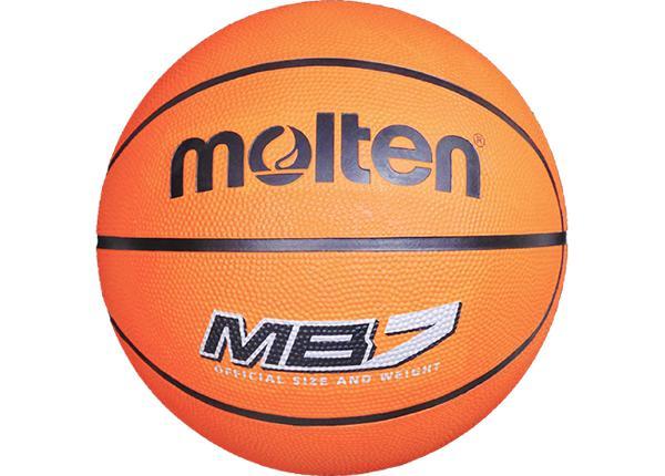 Баскетбольный мяч Mb7 резина Molten