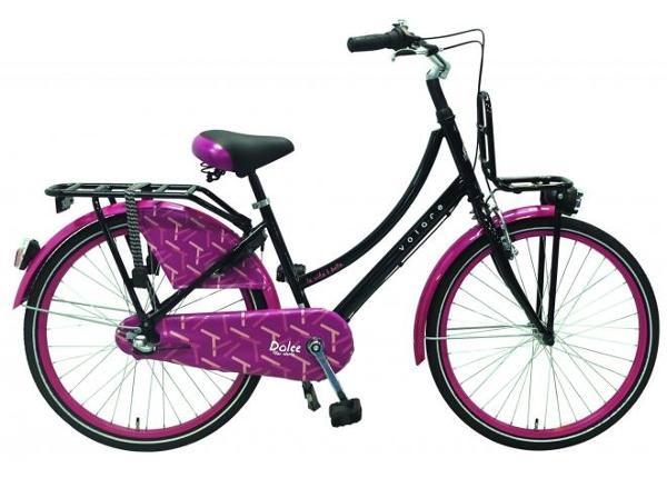 Tyttöjen polkupyörä Dolce Shimano Nexus 3 24 tuumaa Volare