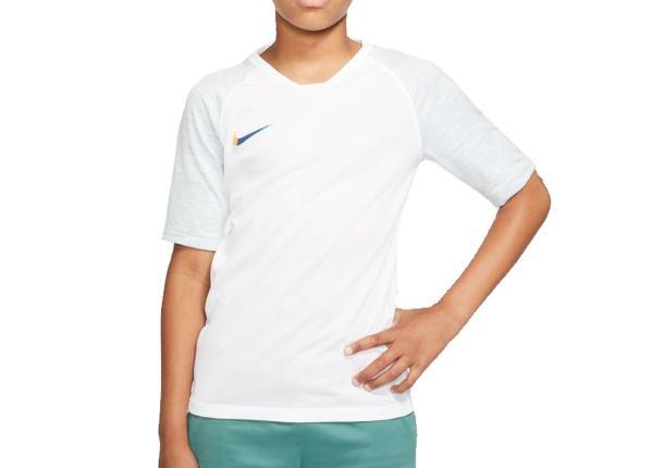 Lasten jalkapallopaita Nike Breathe Strike Top JR AT5885-100