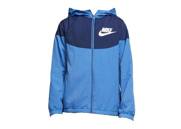 Lasten kuoritakki Nike NSW Woven Jacket JR BV7423-489
