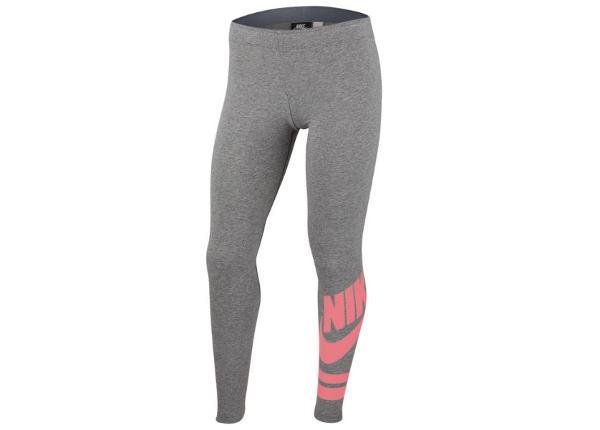 Lasten treenileggingsit Nike Sportswear JR 939447-091