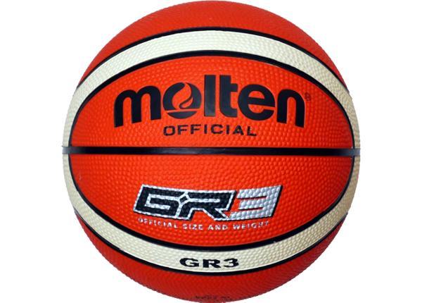 Баскетбольный мяч Gr3 резина Molten