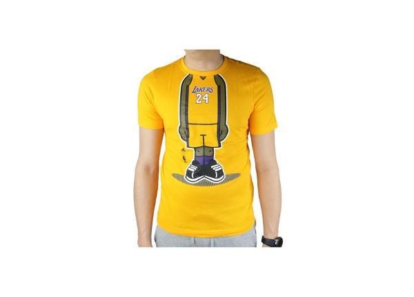 Детская футболка adidas Youth GFX PL LA Lakers Tee Junior G77938