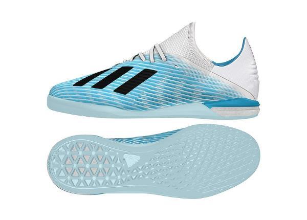 Jalgpallijalatsid saali meestele adidas X 19.1 IN M G25754