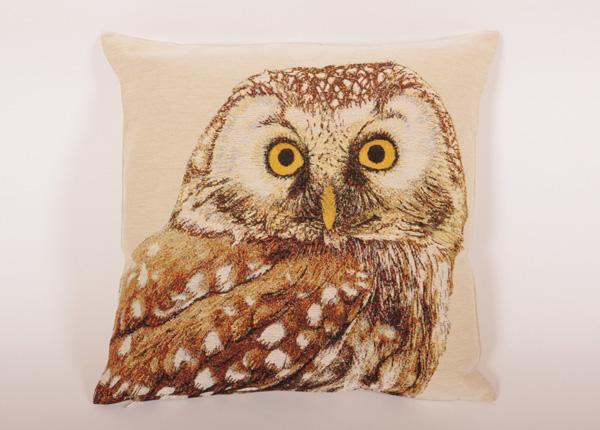 Gobeläänkangast dekoratiivpadi Owl 45x45 cm TG-194523