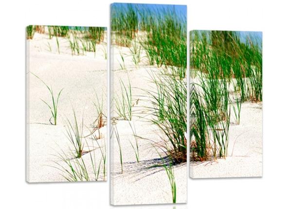 Картина из 3-частей Dunes on the beach 2 3D 90x80 см