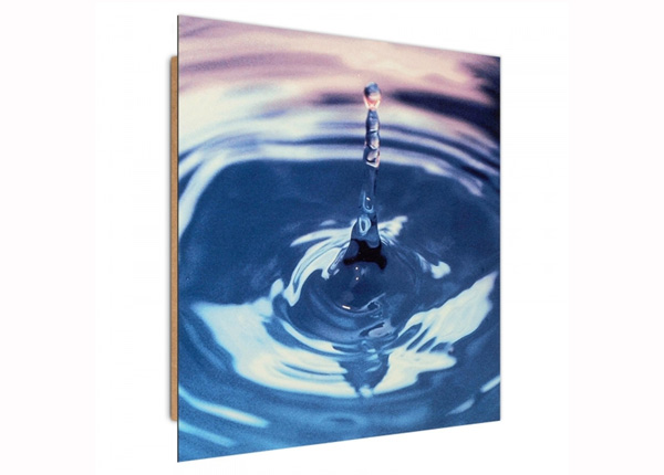 Seinätaulu A drop in the water 3D 30x30 cm ED-194733