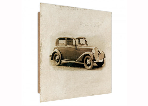 Seinapilt Retro Car 3D 30x30 cm ED-194738