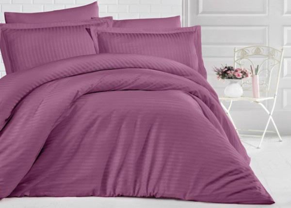 Satiinist voodipesukomplekt Uni Dast Rose 200x220 cm