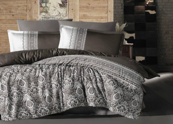 Satiinist voodipesukomplekt Nobel 200x220 cm
