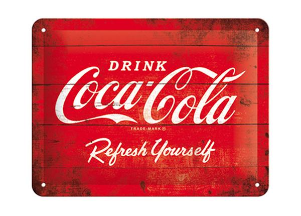 Vintage poster Coca-Cola logo 15x20 cm SG-194938