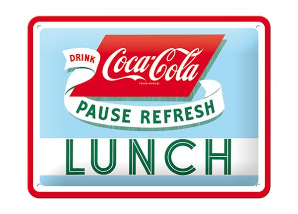 Vintage poster Coca-Cola Lunch 15x20 cm SG-194940