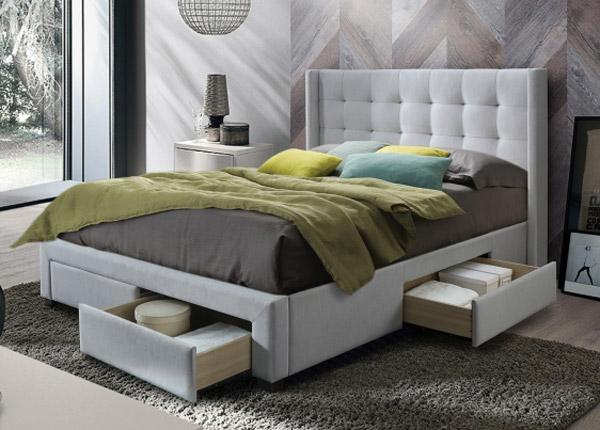 Pesukastiga voodi 180x200 cm