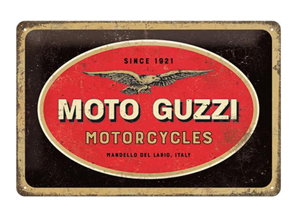 Retro metallposter Moto Guzzi logo 20x30 cm SG-195100