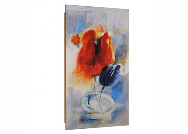 Seinätaulu Painted Poppies 3D 50x100 cm