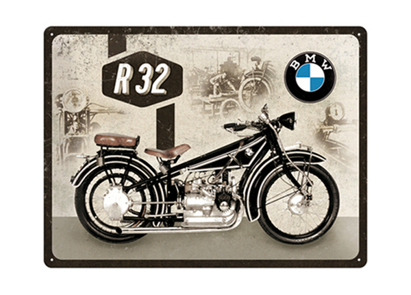 Retro metallposter BMW Motor Maintenance 30x40 cm SG-195242