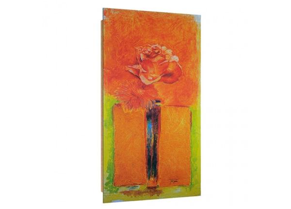 Seinätaulu Rose in vase 3D 50x100 cm ED-195247