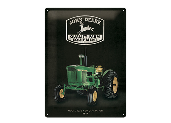 Retro metallposter John Deere Model 4020 30x40 cm SG-195270