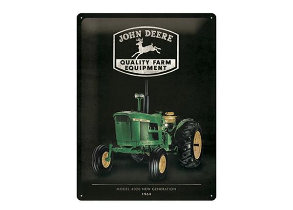Металлический постер в ретро-стиле John Deere Model 4020 30x40 см SG-195270