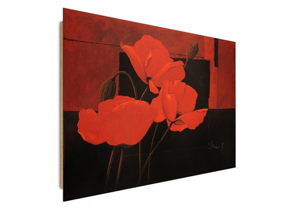 Seinätaulu Poppies at night 3D 98x68cm ED-195330