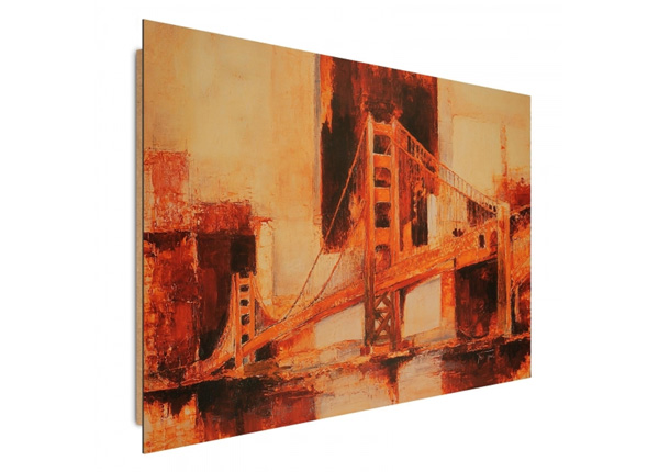 Seinätaulu Painted Bridge 3D 98x68 cm ED-195334