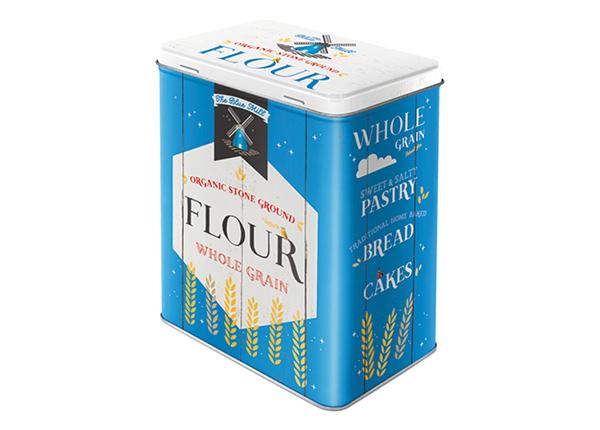 Жестяная коробка Flour 3 л