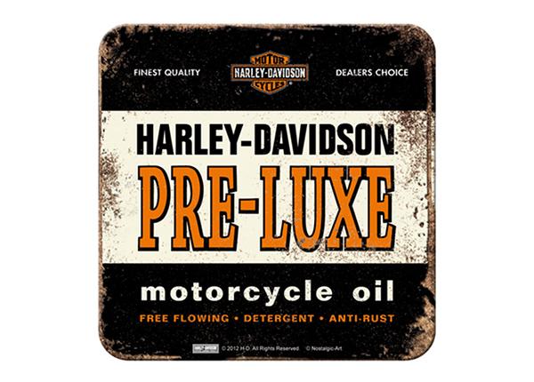 Подставка под стакан в ретро-стиле Harley-Davidson Pre-Luxe must 4 шт