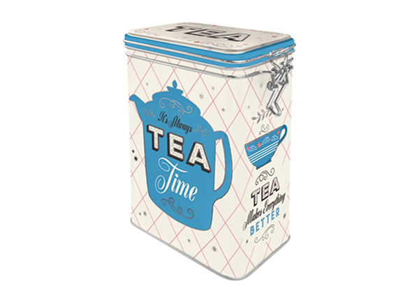 Жестяная коробка Tea 1,3 л