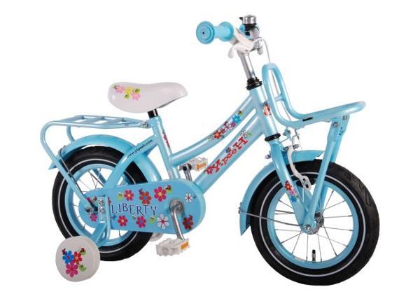 Tyttöjen polkupyörä Liberty Urban sininen 12 tuumaa Yipeeh