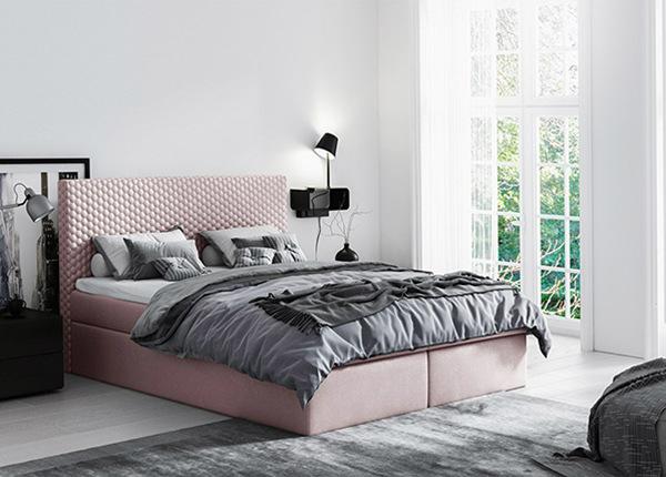 Континентальная кровать с ящиком 200x200 cm