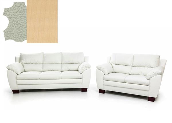 Комплект кожаных диванов Emma 3+2