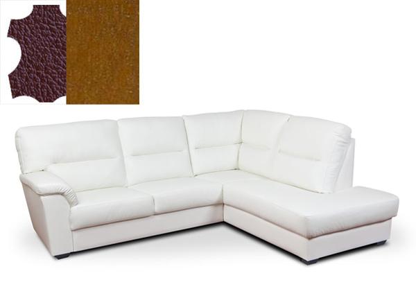 Кожаный угловой диван Phonix 2NA