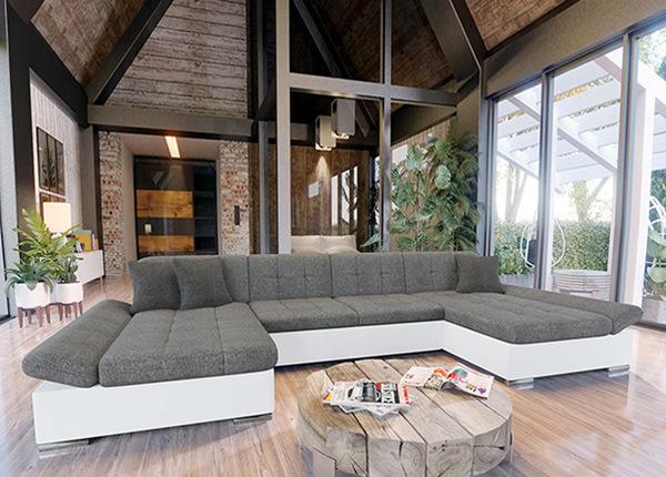 Угловой диван-кровать с двумя ящиками TF-195722