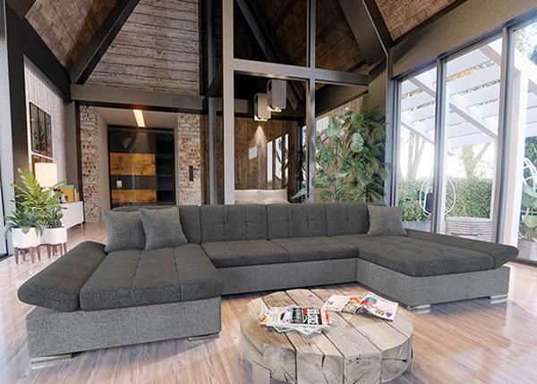 Угловой диван-кровать с двумя ящиками TF-195724