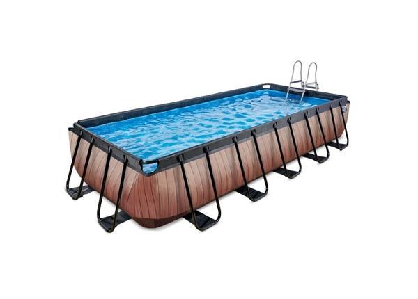 Uima-allas 540x250 cm suodatinpumpulla EXIT Wood