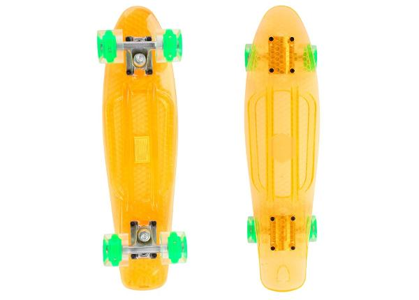 Rula Pennyboard Maronad Retro Transparent