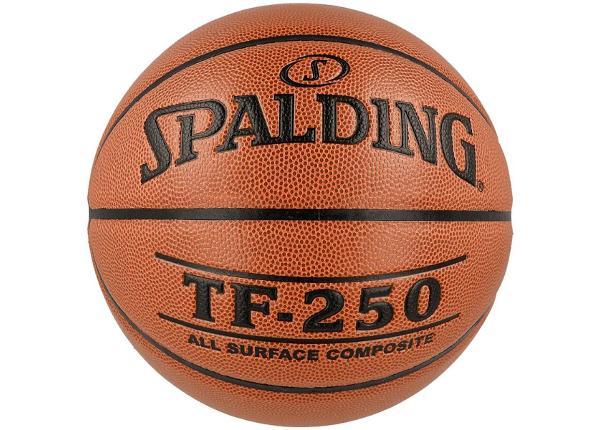 Korvpall väljas ja sees mängimiseks Spalding TF-250 USA