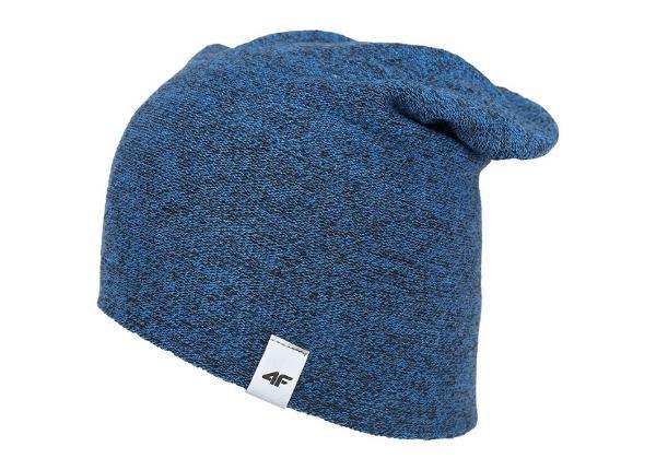 Meeste talvemüts 4f M H4Z18-CAM003 sinine