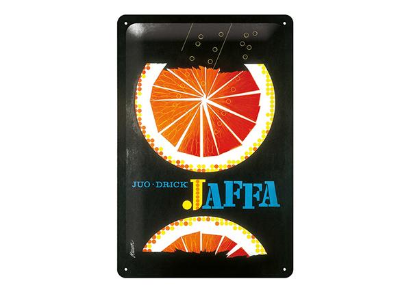 Металлический постер в ретро-стиле Jaffa 20x30 см SG-196812
