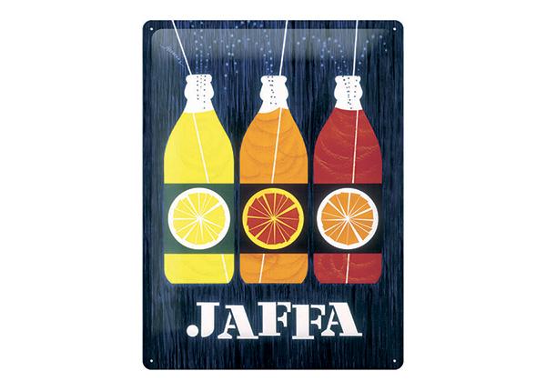 Металлический постер в ретро-стиле Jaffa 30x40 см SG-196813