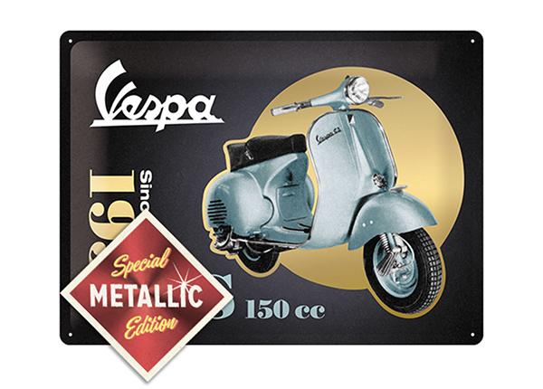 Металлический постер в ретро-стиле Vespa GS 150cc Metallic 30x40 см SG-196816