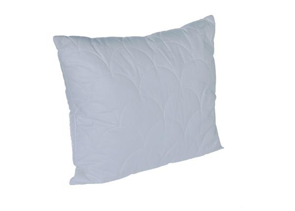 Стеганая подушка с шерстью Greenwool 50x60 см