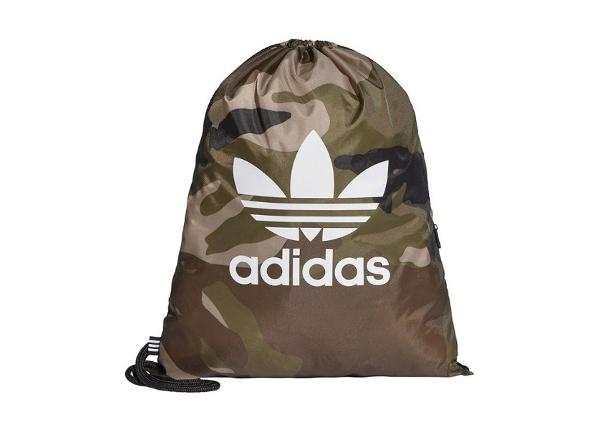 Kenkäpussi Adidas Originals Camouflage DV2475 vihreä