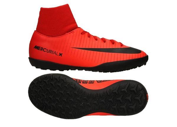 Lasten jalkapallokengät Nike Mercurial X Victory VI DF TF Jr 903604-616