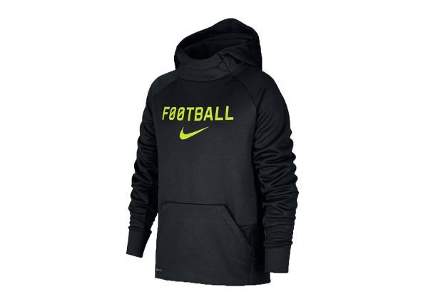Lasten huppari Nike JTherma Hoodie Football Jr AJ0150-011